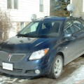 Driver's side view of the 2006 Pontiac Vibe
