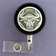 Bull Retractable ID Badge Holder
