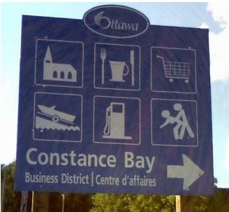 Constance Bay's New Attractions Sign