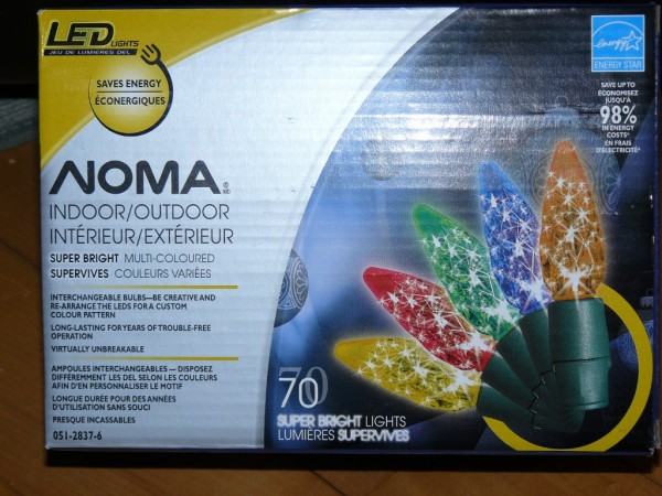 Noma Super Bright LED Christmas light box